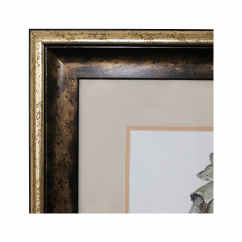 Frame with Coloured Mount